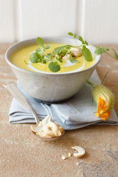 Zucchini-Kokos-Suppe