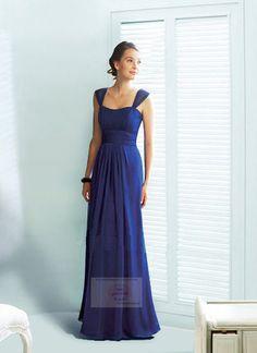 Flot blå kjole