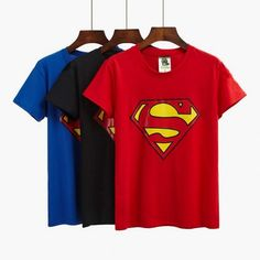 2017 summer t-shirts new short-sleeved T-shirt women's shirt shirt Superman T-shirt women's short-sleeved shirt cotton t shirt Superman T Shirt, Tee Online, Deal Today, Summer Tshirts, 2017 Summer, Stuff To Buy, Tops, Fashion, Baby Newborn