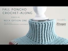 Fall Crochet Poncho - Crochet Along - B.hooked Crochet
