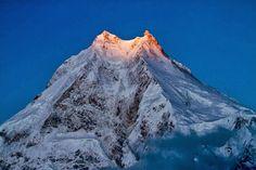 Manaslu Worlds fifth highest cliff
