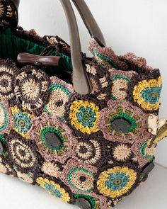 JAMIN PUECH crochet purse