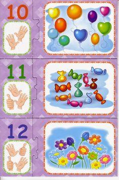 ESPAÇO EDUCAR: Jogo educativo para imprimir: aprendendo os numerais