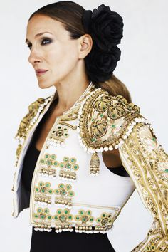 Sarah Jessica Parker con torera para SModa.