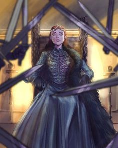Sansa Stark season 8 Game of Thrones GOT Winter Is Here, Winter Is Coming, Live Action, Arte Game Of Thrones, Fanart, Queen Of Nothing, Game Of Thones, Holly Black, Throne Of Glass