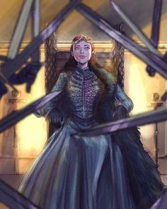 Sansa Stark season 8 Game of Thrones GOT Winter Is Here, Winter Is Coming, Fanart, Arte Game Of Thrones, Queen Of Nothing, Game Of Thones, Iron Throne, Sansa, Daenerys