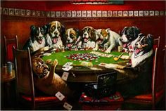Cassius Marcellus Coolidge Poker Sympathy painting is shipped worldwide,including stretched canvas and framed art.This Cassius Marcellus Coolidge Poker Sympathy painting is available at custom size. Jouer Au Poker, Dogs Playing Poker, Cats Playing, Tin Signs, Canvas Prints, Art Prints, Poker Table, Vintage Signs, Vintage Dog