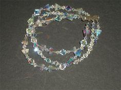 Triple Strand Swarovski Crystal Bracelet