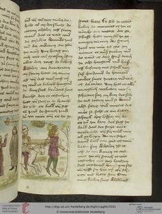 Cod. Pal. germ. 60: Historienbibel ; Irmhart Öser ; 'Brandans Reise' u.a. (Südwestdeutschland, um 1460), Fol 78r