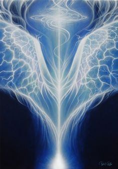 angel wings, healing art, angelic painting