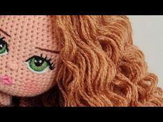 Örgü bebekler de Göz ve Kaş (sağ göz) İşlemesi (Doll right Embroidering) - YouTube Crochet Dolls, Crochet Hats, Amigurumi Tutorial, Doll Eyes, Free Pattern, Barbie, Youtube, Crochet Stitches, Amigurumi Doll