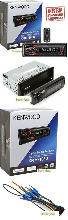 Replacement Faceplates: New Kenwood Kmm-108U In-Dash Mp3 Usb Digital Media Car Stereo Receiver W Aux -> BUY IT NOW ONLY: $79.99 on eBay!
