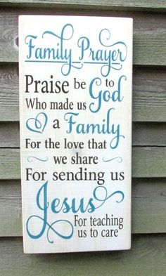 family rules sign, family prayer sign, primitive home decor, shabby chic sign, rustic home decor. wedding gift, religious sign #primitivehomes