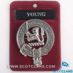 Young Clan Crest Cap Badge