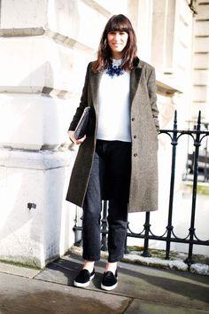 Street style primavera en Londres: Claire