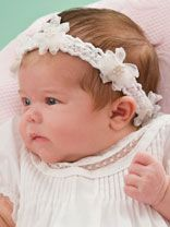 free pattern Baby Headbands