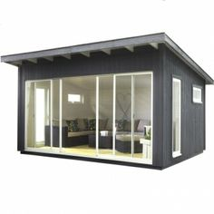 Amazing Shed Plans Abri de jardin en bois Panama - CASTORAMA Now You Can Build ANY Shed In A Weekend Even If You've Zero Woodworking Experience! Start building amazing sheds the easier way with a collection of shed plans! Backyard Office, Backyard Studio, Backyard Sheds, Backyard Retreat, Garden Office, Outdoor Office, Studio Hangar, Outdoor Rooms, Outdoor Living