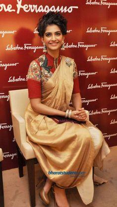incredible Kalamkari blouse work