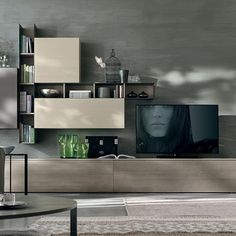 Gruppo Tomasella Now In Cyprus At Exclusive Limassol Shop Living Room Tv Unit, House Design, Tv Wall Design, Modern Living Room, House Interior, Interior Design Bedroom, Wall Unit, Living Room Designs, Living Room Tv