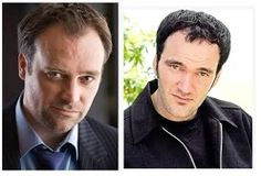 David Hewlett of StarGate and movie director Quentin Tarantino