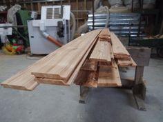 UK grown Western Red Cedar cladding boards