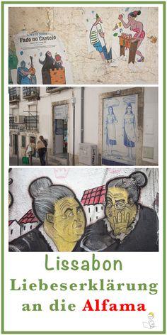 Nirgendwo in Lissabon sind die Gassen enger, nirgendwo gehen Anmut und Verfall so eine unverwechselbare Symbiose morbiden Charmes ein, nirgendwo ist es so schön authentisch wie hier in der Alfama. Und obwohl dieses Stadtviertel mittlerweile auch bei den Touristen sehr hoch im Kurs steht, hat sich die Alfama dennoch an vielen Ecken ihr ganz besonderes Flair bewahrt. Echt. Unverwechselbar. Oft auch schäbig, dreckig und abgenutzt. Dafür mit ganz viel Herz und Seele.