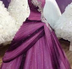 Glitter galla kjole