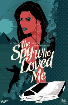 Mike Mahle Re-Imagines Bond Movie Posters