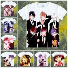 Anime Diabolik Amantes Kanato/Shu/Ayato Informal Camiseta Unisex Camiseta Prendas para el torso #SP -- 1 | Objetos de colección, Dibujos animados y personajes, Anime japonés | eBay!