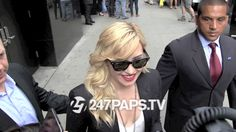 Demi Lovato sporting gold blonde hair leaving Good Morning America  - http://247paps.tv/demi-lovato-sporting-gold-blonde-hair-leaving-good-morning-america/ #Lovatic, #Lovatics, #Staystrong