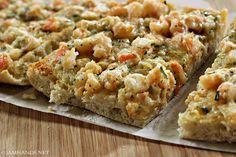 Jam Hands: Cheesy Shrimp Ciabatta