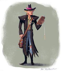 Character Design by Matt Rockefeller, via Behance