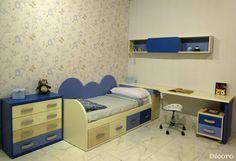 Una decoración dulce y llena de tranquilidad. #habitaciones #infantiles