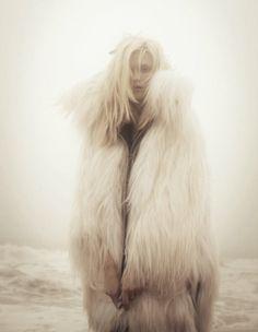 "naag fall 2010 ""prelude to winter"" model: kasia struss, photographer: hugh lippe, stylist: melissa rubini Cane Corso, Foto Fun, Pitbull, Fabulous Furs, Punk, Sphynx, Lookbook, Favim, Fur Fashion"