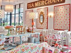 San Francisco's Ghirardelli Square is home to Crown & Crumpet, the most fabulously frivolous tea room I've ever come across. Living on the other side of the pond, I feel very lucky to have stuffed myself with cake here.