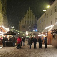 Ansbach, Germany Christmas Market-Dec. 5, 2010 by Old camera guy, via Flickr