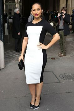 #AliciaKeys in classic black and white