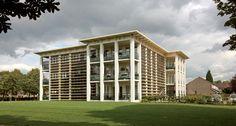Apartments Zonegge, Zevenaar Netherlands. Aerofoil #Louvers by #Hunter Douglas Contract. #architecture