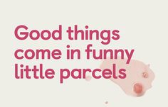 Good Things Come in Little Parcels Like Juicies — The Dieline | Packaging & Branding Design & Innovation News