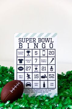 15 Football-themed crafts, snacks and activities for the kids to enjoy on Super Bowl Sunday!