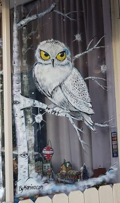 Window Painting – Storefront Displays – Window Splash – Expolore the best and the special ideas about Store window displays Painted Window Art, Christmas Window Decorations, Christmas Window Paint, Christmas Window Display, Window Mural, Store Window Displays, Display Window, Theme Noel, Christmas Paintings