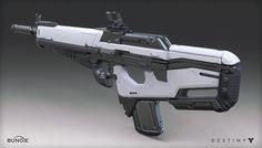 Destiny - The Taken King - Scout Rifle, Mark Van Haitsma on ArtStation at https://www.artstation.com/artwork/destiny-the-taken-king-scout-rifle