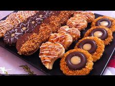 حلويات العيد/ صابلي بريستيج في متناول الجميع وأشكال متعددة من نفس العجين - YouTube