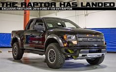 The Raptor Has Landed: An Exclusive First Look at the 2010 Ford F-150 SVT Raptor - PickupTrucks.com News