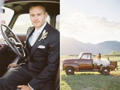 I don't need a fancy wedding just a guy with a truck like this that we can take pictures with and drive awAy in