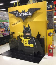 Corrugated cardboard Photo opportunity for the new LEGO Batman movie