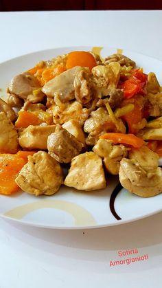 Τηγανιά κοτόπουλου με πιπεριές !!! ~ ΜΑΓΕΙΡΙΚΗ ΚΑΙ ΣΥΝΤΑΓΕΣ 2 Chicken Recipes, Recipies, Cooking Recipes, Ethnic Recipes, Yum Yum, Food, Recipes, Cooker Recipes, Chef Recipes