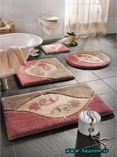 Find This Pin And More On Benim Dünyam. Round Bathroom Rugs ...