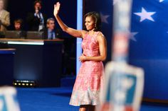 What we love about Michelle Obama's speech last night (including the dress)