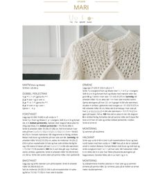 Camilla Pihl Mari-genser Hand Knitted Sweaters, Warm Sweaters, Casual Sweaters, Drops Design, Drops Karisma, Ravelry, Handgestrickte Pullover, Drops Baby, Jumper